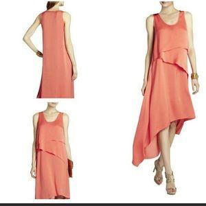 "BCBG ""Reese"" Asymmetrical Tiered Dress!"